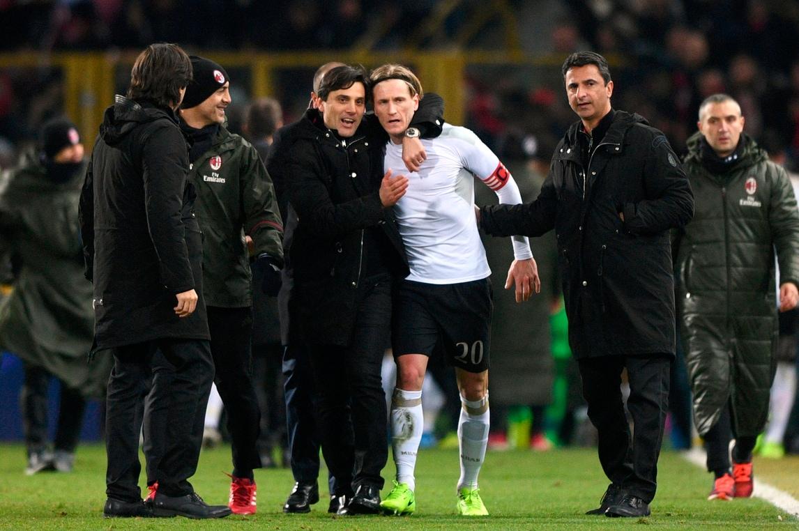 Montella: «Milan, vittoria epica. Deulofeu incredibile»