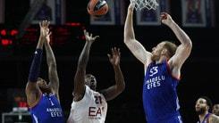 Basket Eurolega, Milano addio playoff!