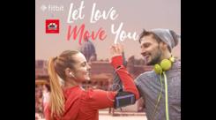 Fitbit e Purosangue celebrano l'amore con un flash mob a Roma