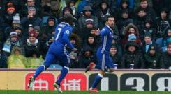 Premier League: pari Chelsea, Conte a +10 sulle seconde. Leicester ancora ko
