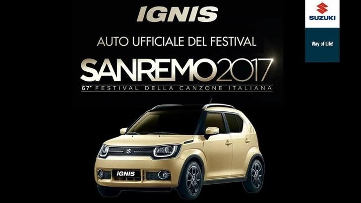 Suzuki Ignis, l'auto ufficiale del Festival di Sanremo
