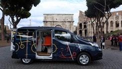 Nissan, l'idea del van elettrico che diventa ufficio