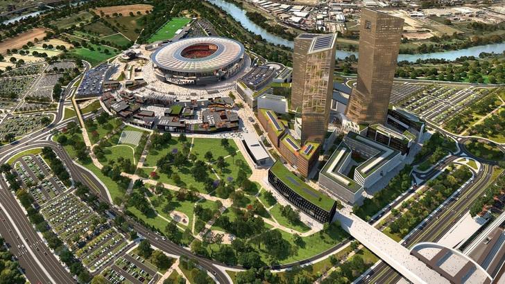 Roma, presentata revisione del progetto stadio. Baldissoni: