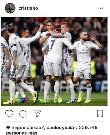 """Dybala, basta un """"like"""" a Ronaldo per scatenare i media spagnoli"""