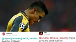 Arsenal, per i tifosi Alexis Sanchez va alla Juventus