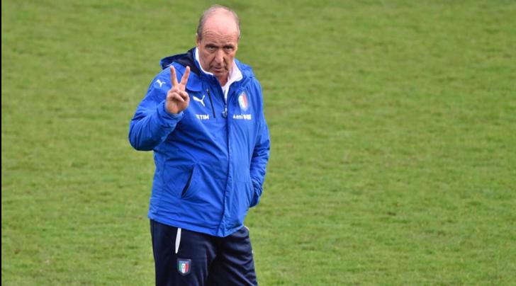 Italia: Ventura convoca 22 giocatori per lo stage
