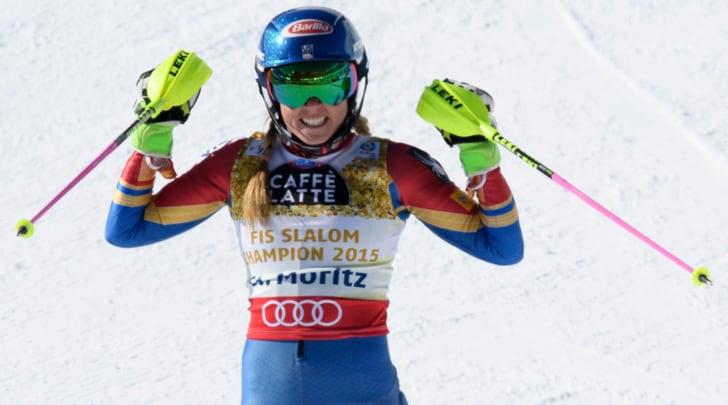 Slalom, prima manche: vola Shiffrin, azzurre male