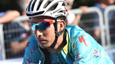 Giro dell'Oman, Fabio Aru conquista il secondo posto sulle rampe della Green mountain