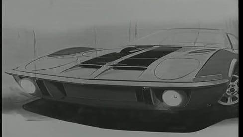 Il design senza tempo della Opel GT