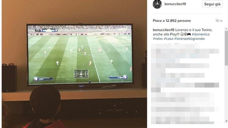 Juventus tradita, a casa Bonucci c'è chi tifa Torino