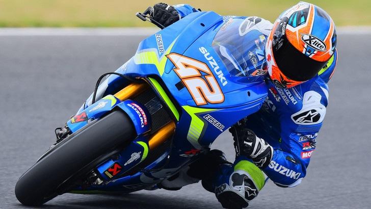 MotoGp Suzuki, Rins: «Sono soddisfatto»