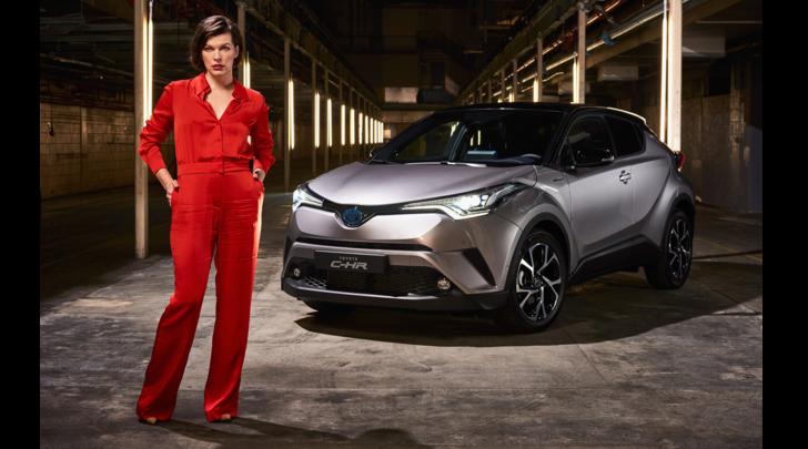 Milla Jovovich per la nuova Toyota C-HR