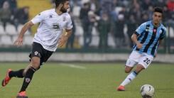 Serie B Pro Vercelli, per Luperto almeno due settimane di stop