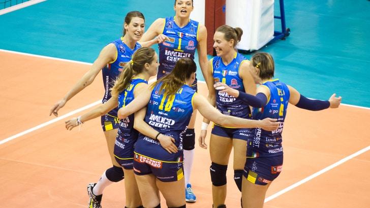 L'Imoco Conegliano vince il derby d'Europa con Modena