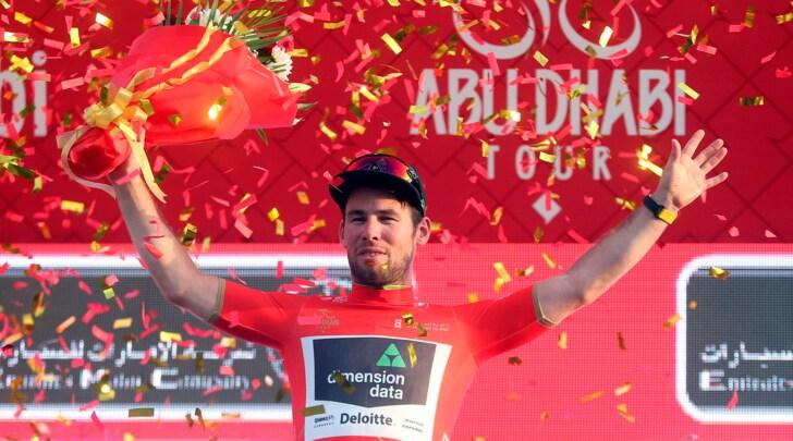 Abu Dhabi Tour, Cavendish si prende tappa e maglia