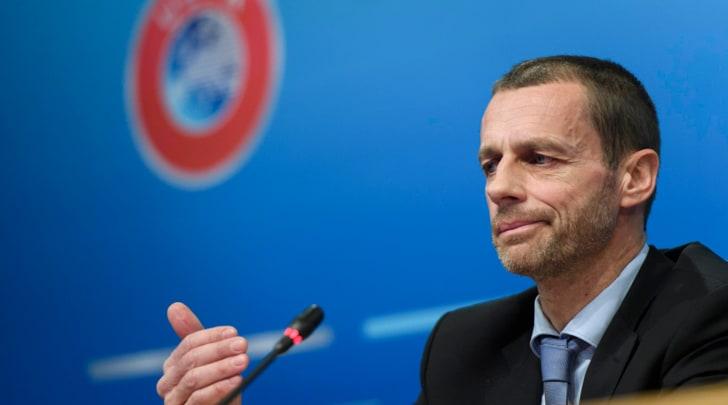 Il presidente Uefa Ceferin: