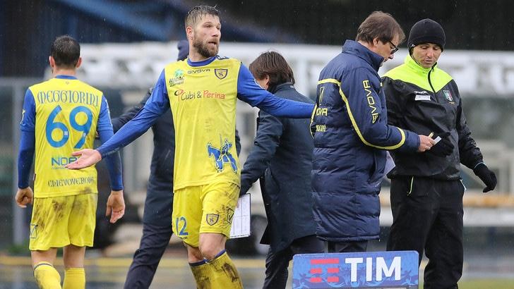 Serie A Chievo, dopo l'influenza Cesar si allena coi compagni