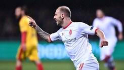 Serie B Benevento ko al Vigorito. Passa il Bari 3-4