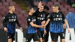 Doppietta di Caldara: Napoli-Atalanta finisce 0-2