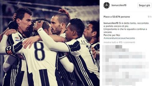 Bonucci: «Si è parlato tanto... ma l'importante è solo vincere»