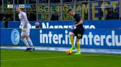 Inter-Roma, Perisic ingenuo: retropassaggio di testa e ammonizione