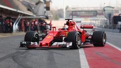 Hamilton primo, Vettel insegue nel primo giorno di test a Montmelò