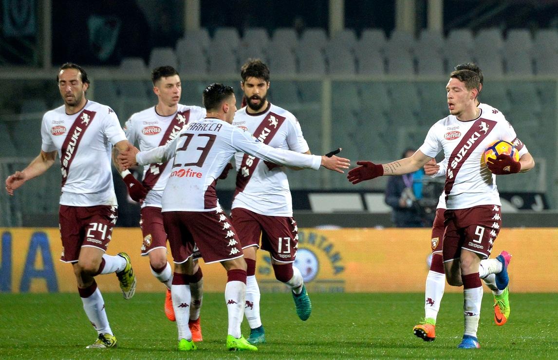 Il Torino è Belotti: gol n. 18 e 19: capocannoniere. Con la Fiorentina è 2-2