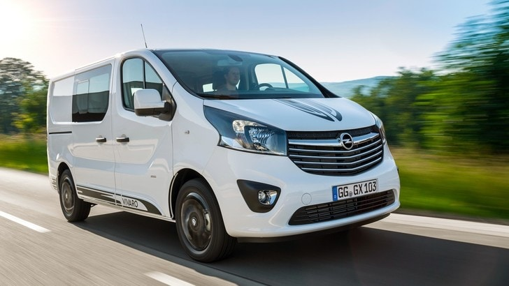 "Opel Vivaro Sport, il ""furgone"" iper tecnologico"