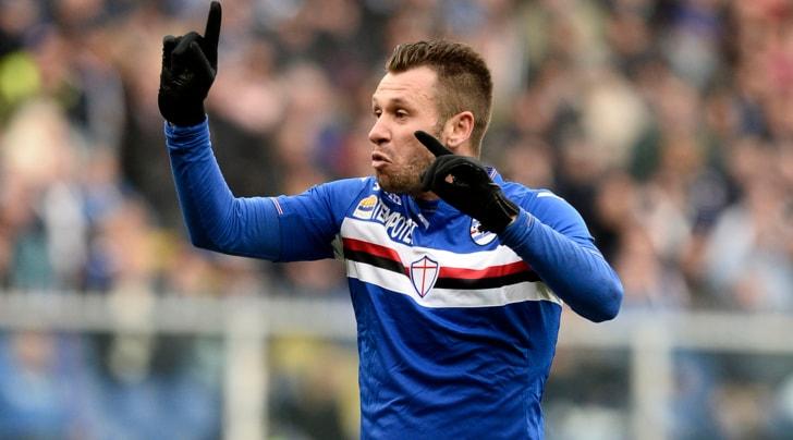 Sampdoria, Cassano: «Non mi fanno allenare? Allora faccio il papà»
