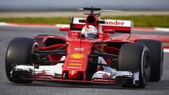 Test Barcellona, bene Vettel. Vola Bottas