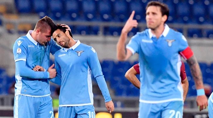 Coppa Italia, Lazio-Roma 2-0: il primo derby lo decidono Milinkovic-Savic e Immobile