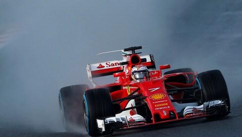 Formula Uno, aiuto la pista è allagata! Ma è una simulazione