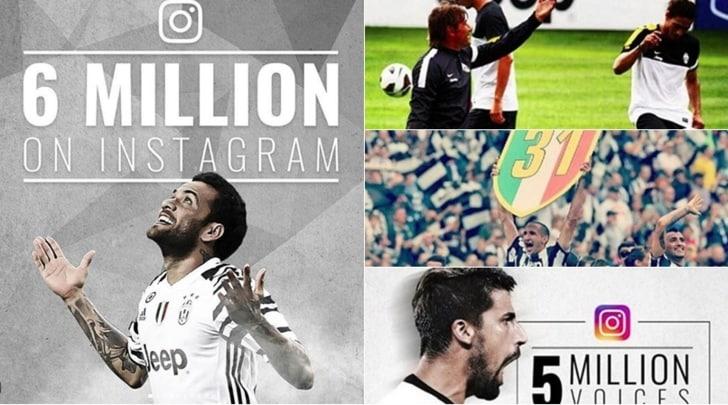 Juventus, è su Instagram il nuovo grande risultato