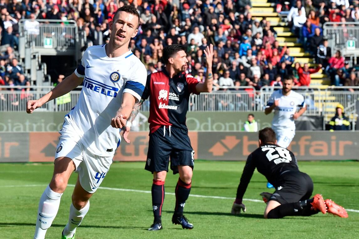 Inutile il gol di Borriello, Cagliari-Inter termina 1-5