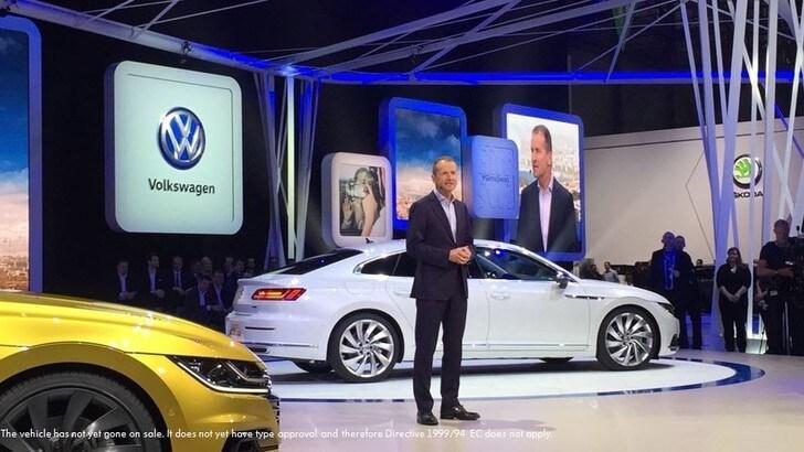 Nuova Volkswagen Arteon: sopra la Passat