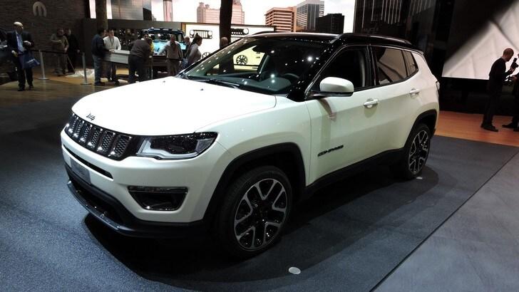 Jeep Compass, il SUV compatto debutta a Ginevra