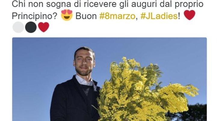 8 marzo: Marchisio fa gli auguri alle donne Juve