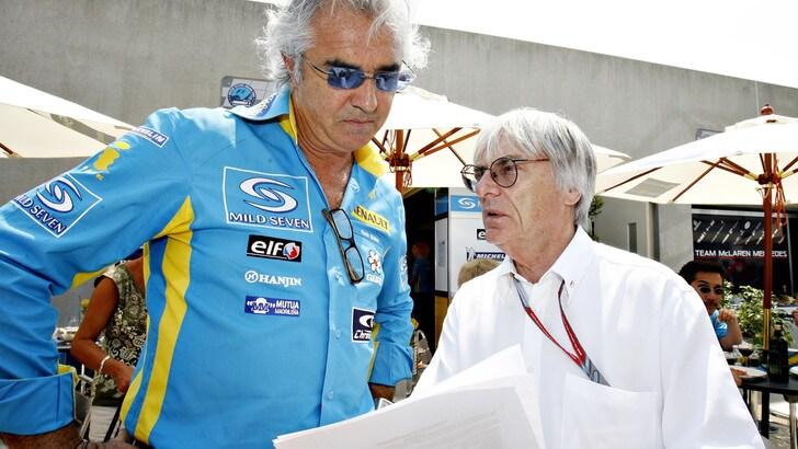 F1, Briatore: «Ecclestone non è stato trattato degnamente»