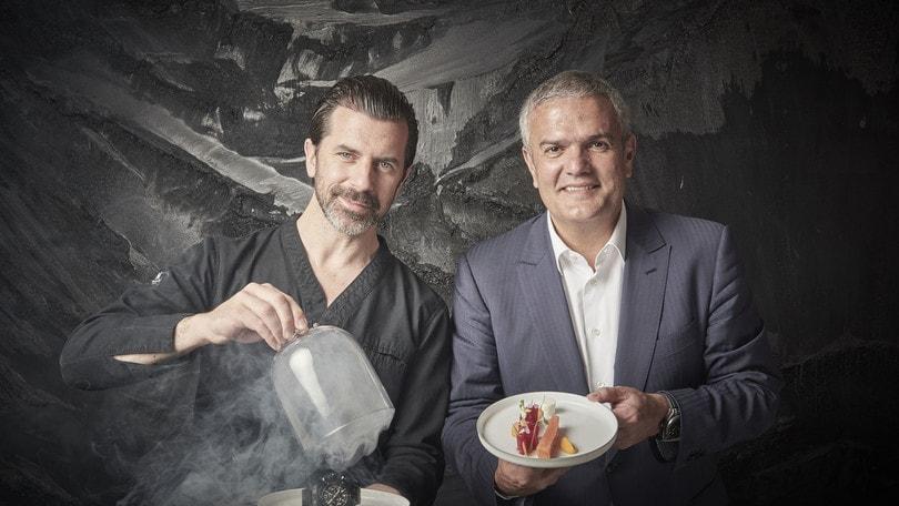 Andreas Caminada è il nuovo chef della brigata Hublot