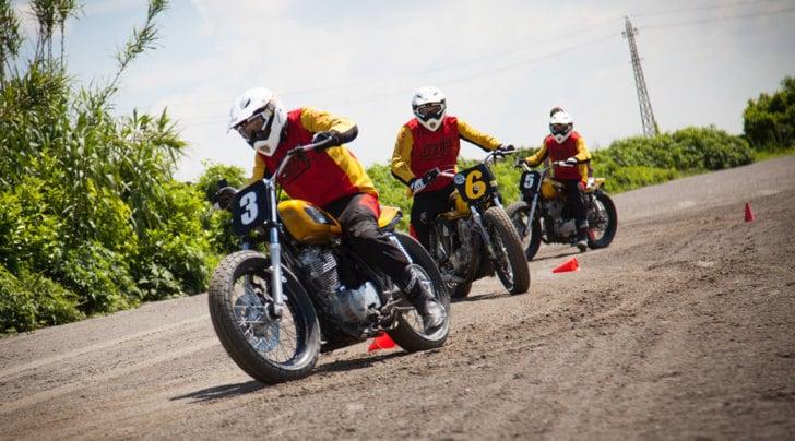 """A Motodays 2017 è di moda la guida di """"traverso"""""""