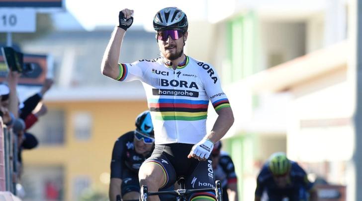 Tirreno-Adriatico: Sagan si aggiudica la terza tappa, secondo Viviani