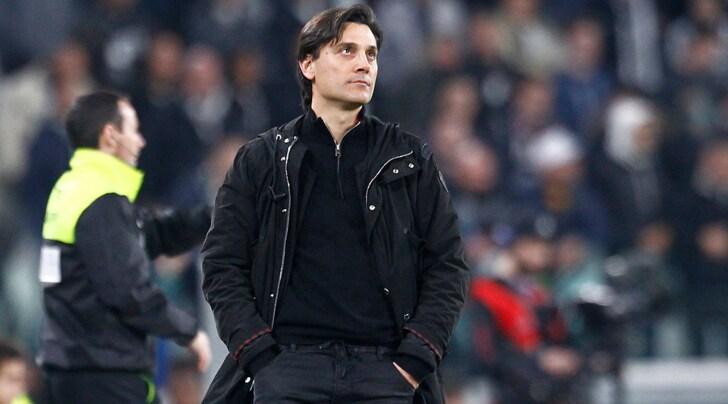Montella calma il Milan:«Il rigore per la Juventus? Ha deciso Massa. Chiedo scusa per il nervosismo finale»