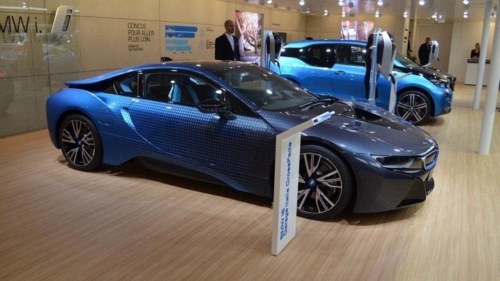 BMW i8 CrossFade, l'arte si unisce alla tecnologia