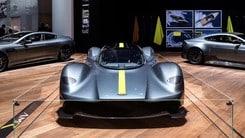 Aston Martin Valkyrie, solo le F1 sono più veloci