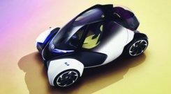 """Toyota i-Tril Concept, il tre posti quattro ruote che """"piega"""""""