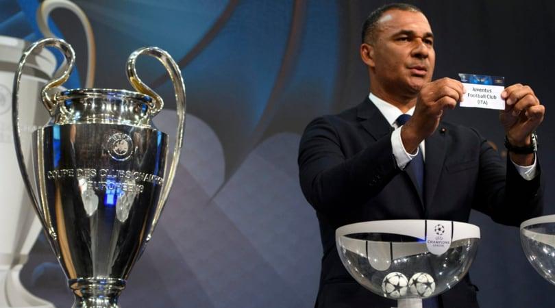 Juventus, sorteggio quarti Champions League: date e avversarie