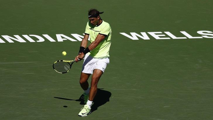 Tennis, Indian Wells: Nadal favorito su Federer