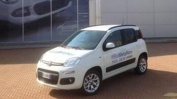 Fiat Panda, un modello speciale per sperimentare il biometano
