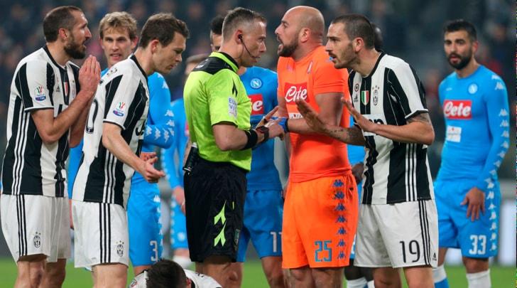 Juventus, cinque giocatori rischiano di saltare il Napoli