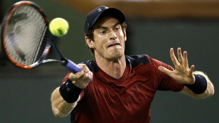 Tennis: Murray salta Miami per problemi al gomito